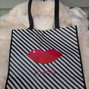 Sephora Lips Tote bag Nwt